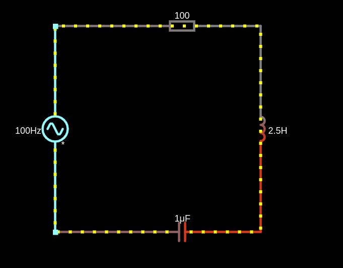Screenshot Schwingkreis