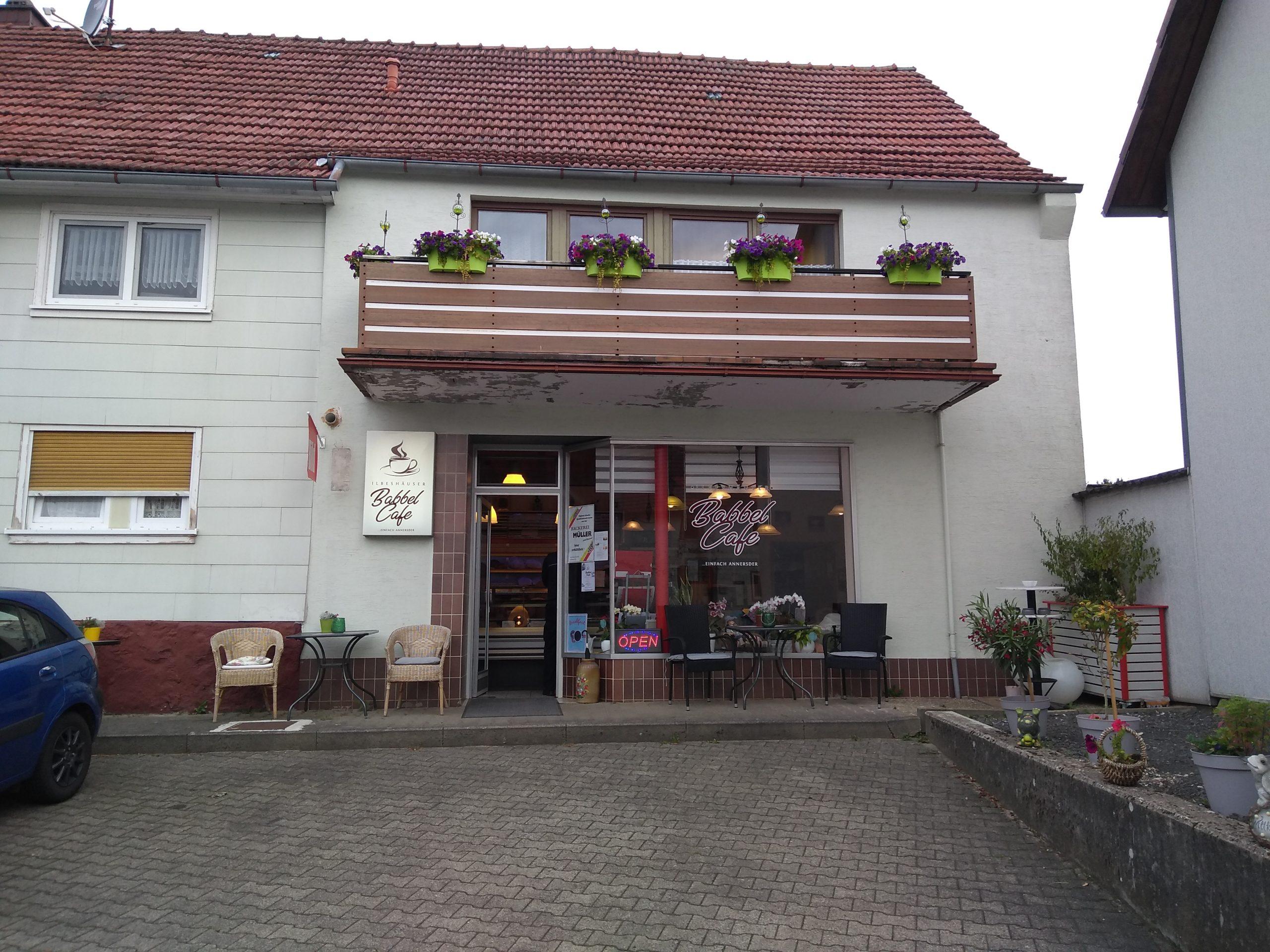 Ansicht Ilbeshäuser Babbel Cafe
