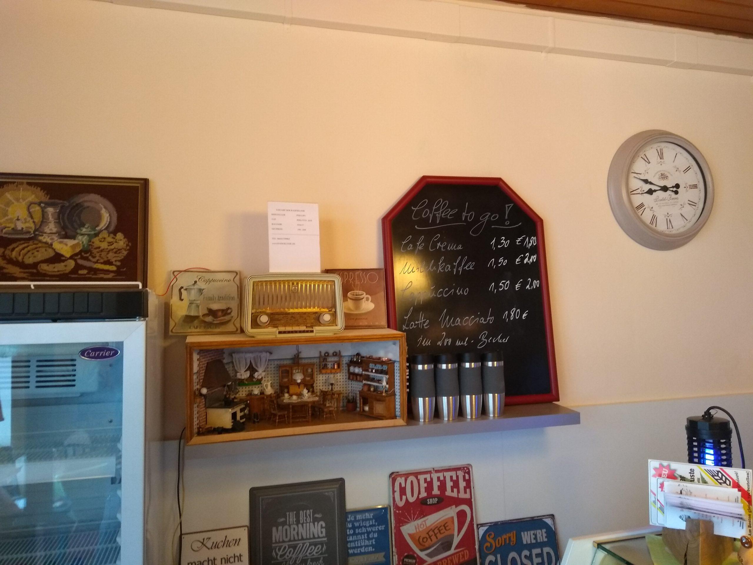 Philetta im Ilbeshäuser Babbel Cafe