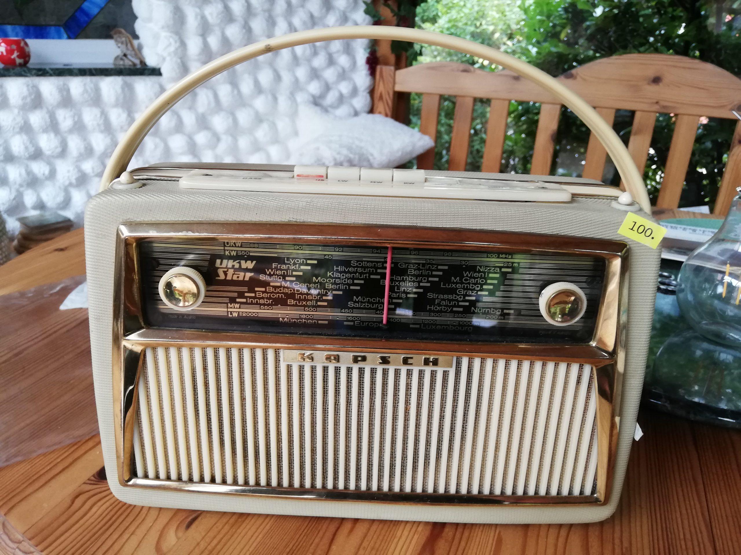 Kapsch Radio UKW STAR 1960 fertig